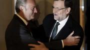 Alberto Fabra y Mariano Rajoy.