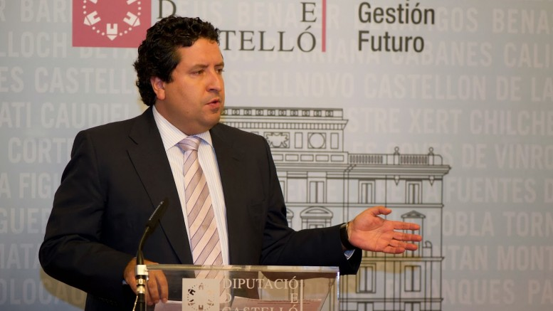 Javier Moliner no optará a la reelección de presidente del PP, de Castellón