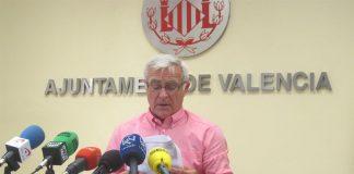 El alcalde desaparecido en la reunión clave para las Fallas