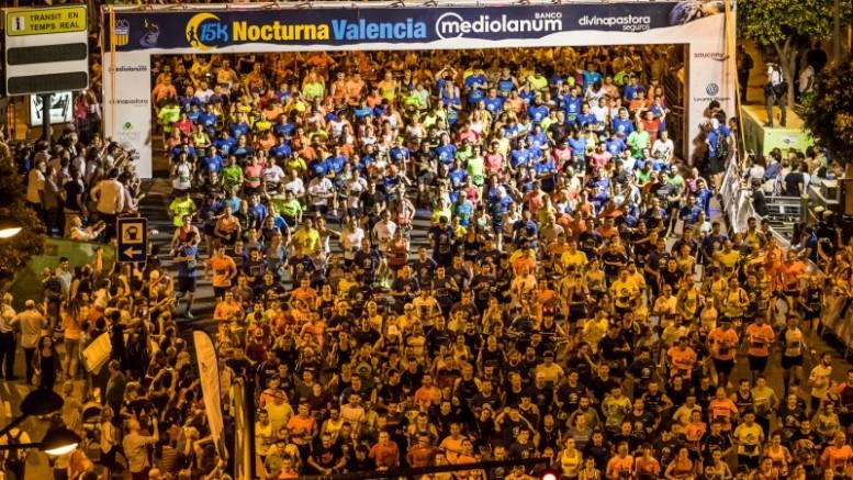 La 15K Nocturna Valencia Banco Mediolanum se celebrará el próximo 10 de junio