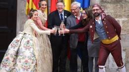 """Puig: """"La voz de todo el pueblo valenciano deseaba que las Fallas fueran declaradas Patrimonio Inmaterial de la Humanidad"""""""