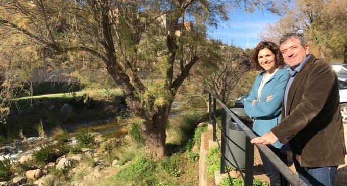La Diputación dinamiza la cuenca del río Sellent a su paso por Bolbaite con un mirador y la adecuación de la zona recreativa
