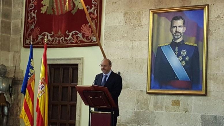 acto de lectura de la Constitución organizado por la Delegación del Gobierno