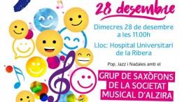 """La Regidoria de Cultura enceta la campanya """"Música per Somriures"""""""