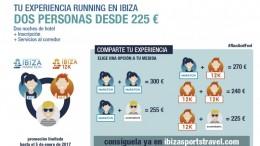 Ibiza Marathon lanza paquetes promocionales para corredores que combinan dorsal y alojamiento