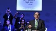Ignacio Galán defiende en Davos la necesidad de impulsar la descarbonización de la economía mundial