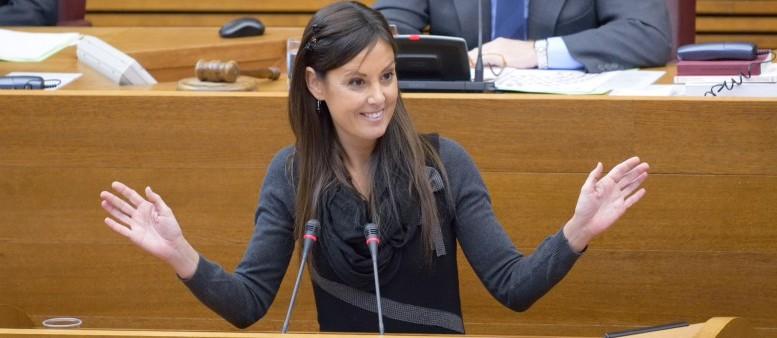 """Díaz: """"Los grupos del Botànic se niegan a tramitar una iniciativa del GPP para evitar así que se hable del PATIVEL en Les Corts"""""""