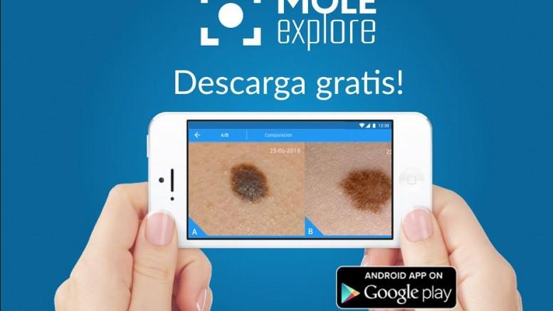 Mole Explore la app que monitoriza y ayuda en el seguimiento del cáncer