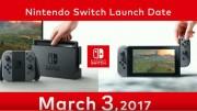 Nintendo Switch llegará al mercado el 3 de marzo