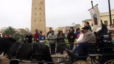 Almussafes celebra su tradicional fiesta en honor a San Antonio, el patrón de los animales