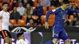 El Valencia CF cae derrotado ante el Celta en Mestalla en la ida de octavos de Copa (1-4)