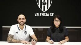 Zaza, nuevo jugador del Valencia CF
