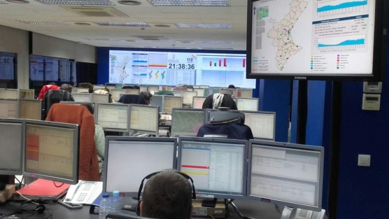 El teléfono '112 Comunitat Valenciana' gestiona 1.435 incidencias durante la Nochevieja