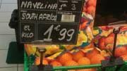LA UNIÓ denuncia la venta de naranjas procedentes de Sudáfrica en la cadena de supermercados Dia