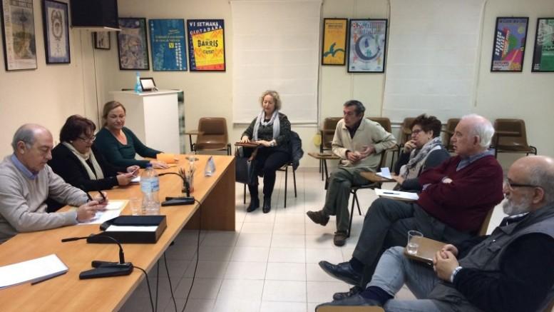 El Grupo Popular intensificara la colaboración con la Federación de Asociaciones de Vecinos