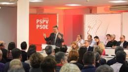 """Ximo Puig: """"El PSPV está en condiciones de tener una voz importante en el debate político y tenemos la obligación de darlo todo en ello"""""""