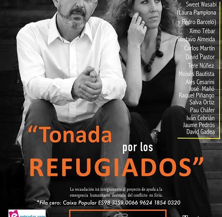 """Nacho Mañó y Gisela Gines dan voz al conflicto sirio con el concierto """"Tonada por los refugiados"""""""