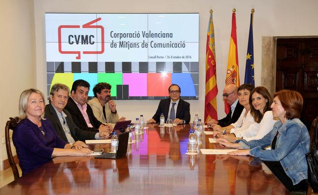 El Consell aprueba un presupuesto de 55 millones de euros para 2017 para la Corporació Valenciana de Mitjans de Comunicació