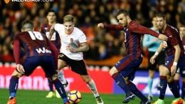 El Eibar hunde en el fango al Valencia CF 0-4