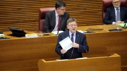 Puig insta a Les Corts a trabajar conjuntamente para que los Presupuestos del Estado garanticen la mejora de la red ferroviaria valenciana