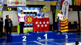 Nerea López, medalla de bronce en el Campeonato de España de Tiro con Arco en Sala