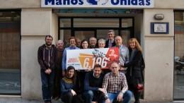 El 10K Valencia Ibercaja 2017 recauda más de 6.000€ para Manos Unidas