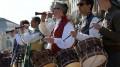 escuela de dolçainas y tabalets de Junta central fallera que abrió el desfile musical