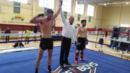 Un oro y una plata para el club deportivo Yoko-kan de Almussafes en el autonómico de kick-boxing