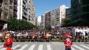 Cruz Roja despliega en Alzira su dispositivo sanitario para las Fallas 2017