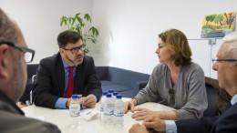 La Diputación y COVACO estudian armonizar actuaciones conjuntas en materia comercial