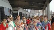 Metrovalencia evita más de un millón de desplazamientos de vehículos privados en Fallas