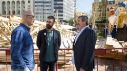 Generalitat, Diputación y Ayuntamiento trabajan conjuntamente en el proyecto marco 'Por unas Fallas Sostenibles'