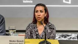 Noura Gazhi: YA ES HORA DE QUE HAYA JUSTICIA PARA LOS MILLONES DE VÍCTIMAS DE LA GUERRA.