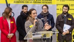 EL AYUNTAMIENTO DE VALENCIA SE SUMA AL ACTO DE AMNISTÍA INTERNACIONAL EN FAVOR DE LA ACOGIDA DE REFUGIADOS.