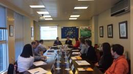 Una delegación de la Comisión Europea visita AIJU para conocer los avances del proyecto Greenzo