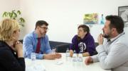 Diputación y Unadikum trabajan para acoger a niños palestinos en València durante los meses de verano