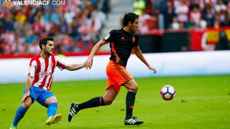 El Valencia CF merece más que el empate ante el Sporting (1-1)