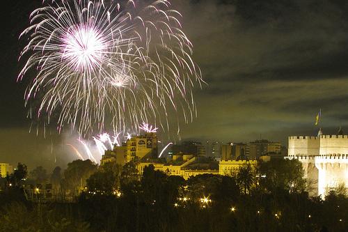La Diputación de Valencia participa del XXXVIII Festival de Pirotecnia con motivo del 9 d'Octubre