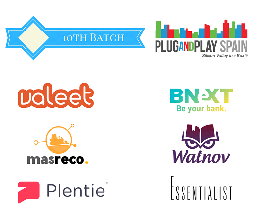 Seis proyectos para el décimo programa de Plug and Play Spain
