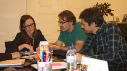 Diputación y Ayuntamiento de València estudian acciones para mejorar el transporte público del Área Metropolitana