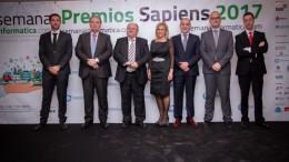 GALA DE LOS PREMIOS SAPIENS ES EL BROCHE DE ORO A LA SEMANA INFORMÁTICA 2017