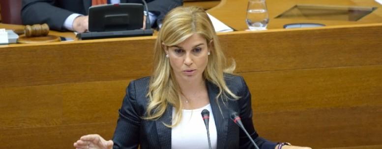 """Eva Ortiz: """"Puig debe desautorizar a Echávarri o asumir que avala purgas y persecuciones por motivos ideológicos"""""""