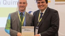 MESbook recibe el premio Industria 4.0 en Iberquimia, el Congreso de la Industria Química que se celebra en Madrid