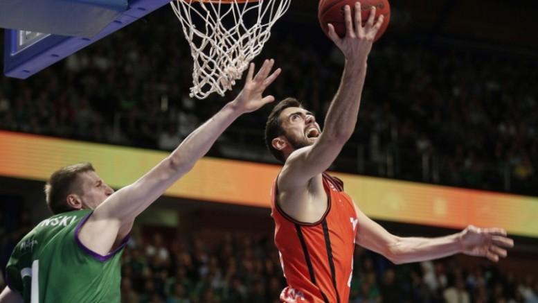 Valencia Basket pierde con Unicaja 79 - 71