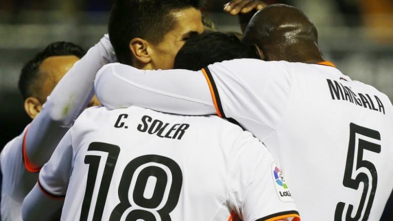 Valencia CF gana al Celta de Vigo 3 -2