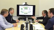 El conseller de Economía Sostenible, Rafael Climent, visita el Centro de Operación de Distribución de Iberdrola en Torrent (Valencia)