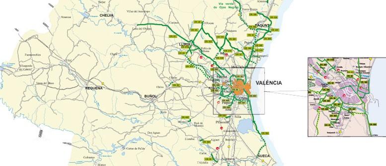 La Generalitat avanza en el proyecto del Anillo Verde Metropolitano de València