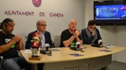 El director general de l'Institut Valencià de Cultura participa en la presentació del festival Cortoons a Gandia