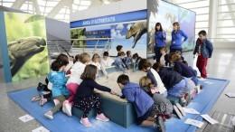 Más de 13.000 escolares visitan esta semana la Ciutat de les Arts i les Ciències