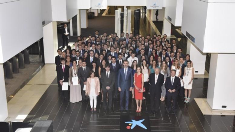 """120 estudiantes españoles reciben una beca de """"la Caixa"""" para cursar estudios de posgrado en el extranjero"""